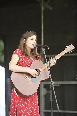Fiery Bird signer-songerwriter, Rebecca Jayne