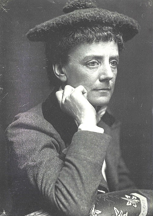 Ethel Smyth in 1908 (Lewis Orchard Collection, Surrey History Centre)