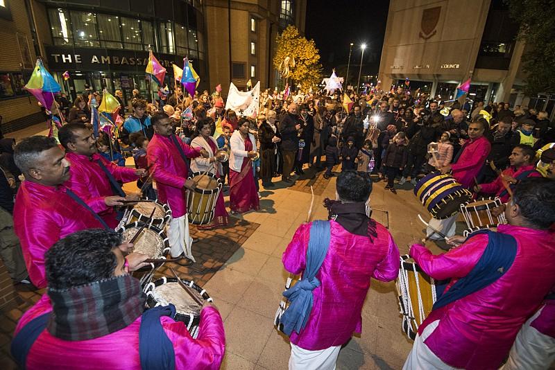 Diwali Drummers