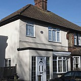 House that H.G. Wells lived in. 141 Maybury Road