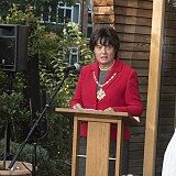 The Mayor of Woking, Cllr Anne Murray
