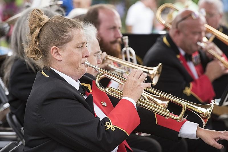 Brass bands performance